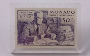 Franklin Delano Roosevelt stamp from Monaco
